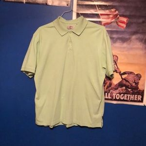 Green Callaway Golf Polo